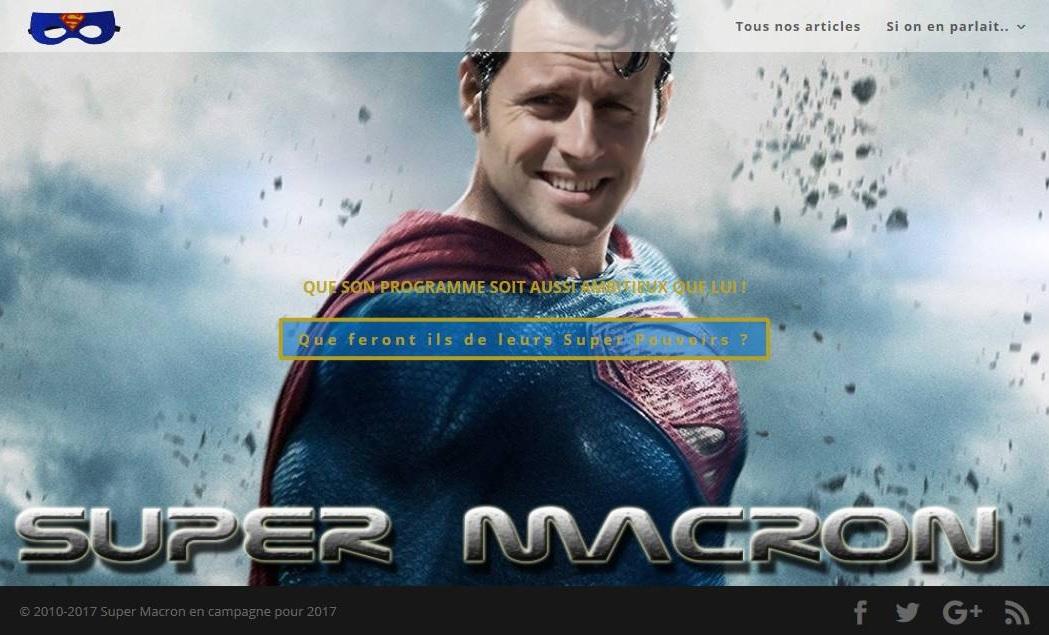 Nom Domaine Super Macron 2017- Election Presidentielle