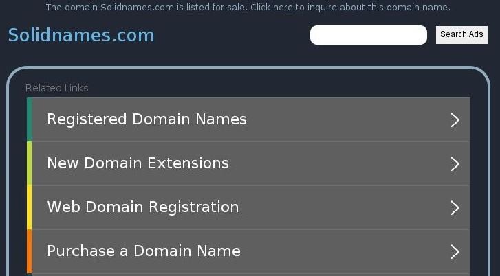 Rachat Nom Domaine .COM en dollars