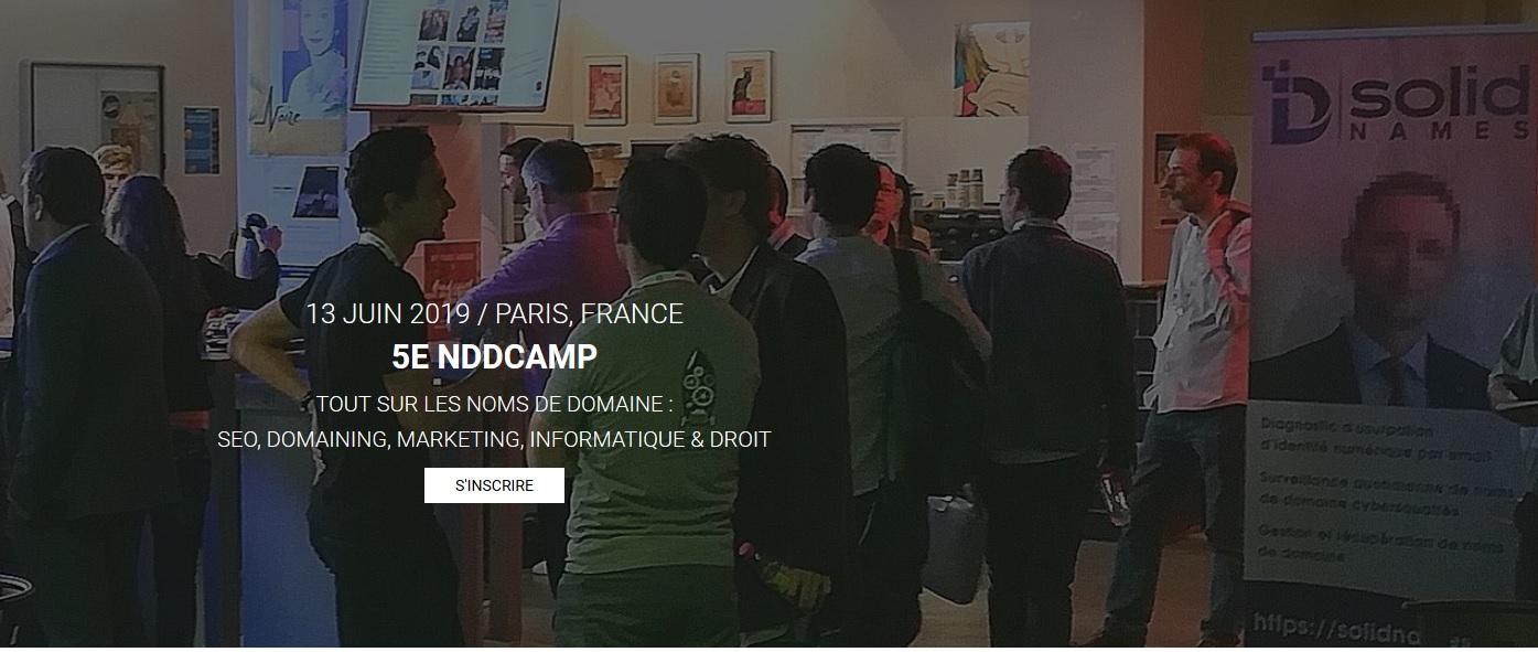NDDCAMP 2019, Événement Noms Domaine Paris