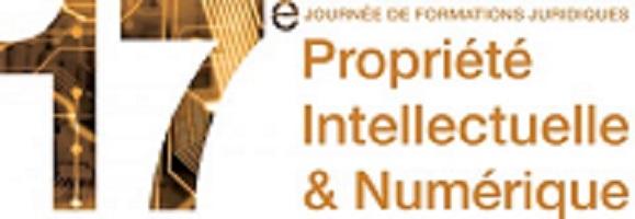 Journée Formations Juridiques Propriété Intellectuelle et Numérique, 10 décembre 2019 à Paris