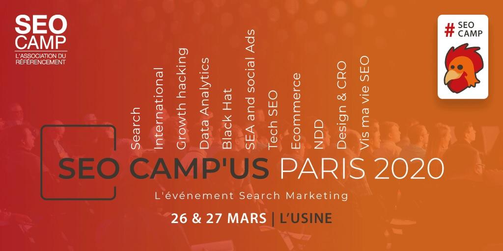 SEOCAMP'US, Conférence « Noms de domaine expirés à l'épreuve du droit des marques », à Paris, 29 septembre 2020