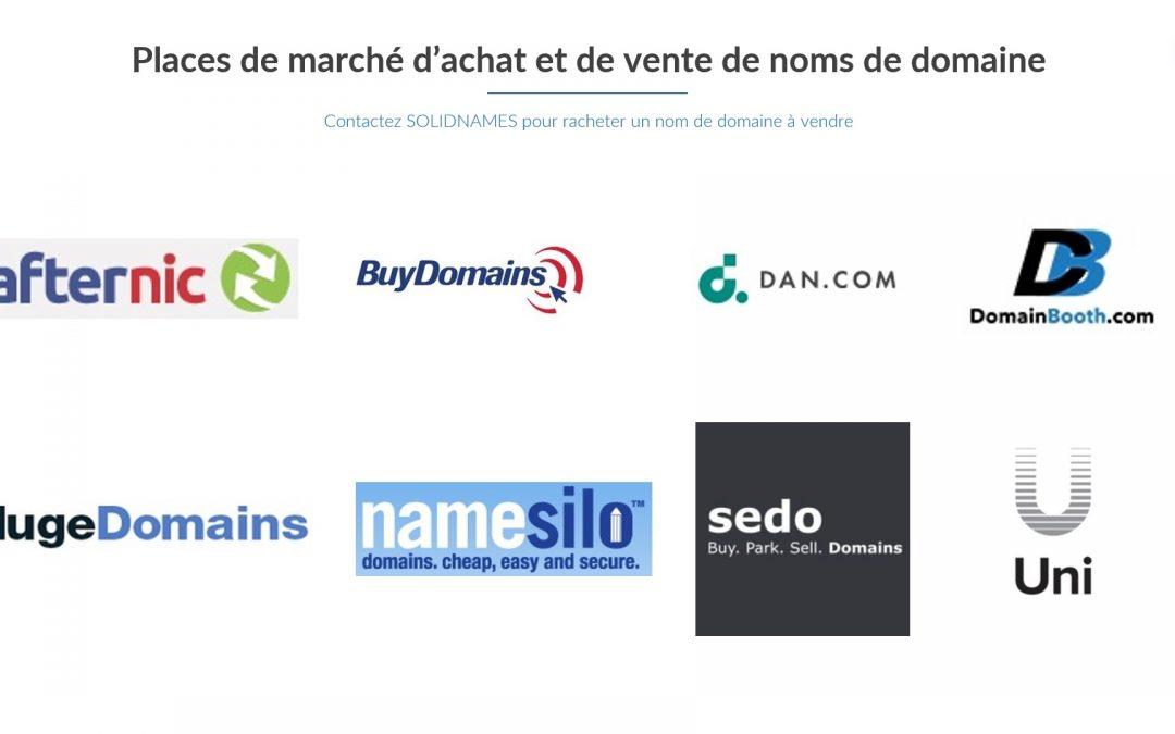 Comment racheter un nom de domaine à vendre ?