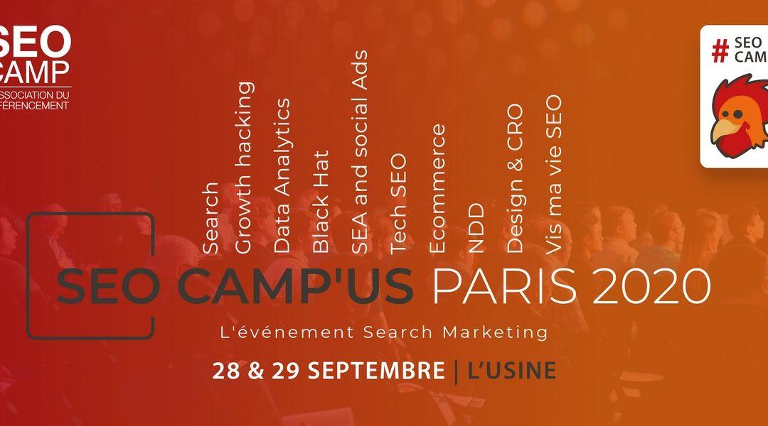 SEOCAMP'US PARIS 2020, Conférence noms de domaine
