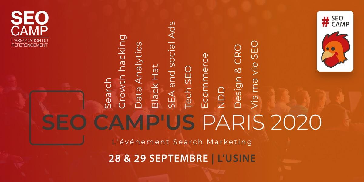 SEOCAMP'US PARIS 2020 Noms domaine